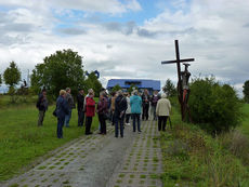 Sankt Crescentius on Tour in der Rhön (Foto: Karl-Franz Thiede)